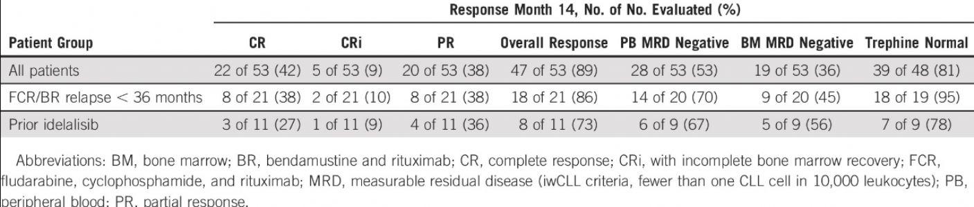 MRD阴性缓解率达36%,慢性淋巴细胞白血病患者获得深度缓解后有望停药